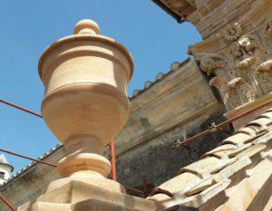 Duomo di Amelia - Terrecotte Ripabianca - Deruta
