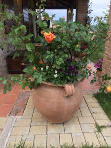 vaso da esterno - Terrecotte Ripabianca - Deruta